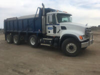 Driver needed for triaxle dump
