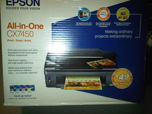Scan Print Copy All in one Epson CX-7450 Multifunctional Printer
