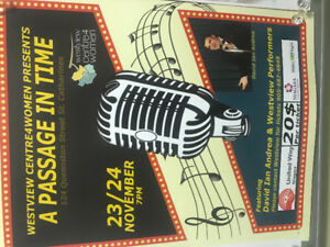 Musical in support of Westview centre4women.