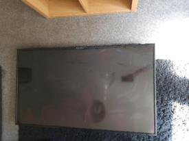"50)"" ferguson wide broken screen HD DIGITAL TV LED smashed"