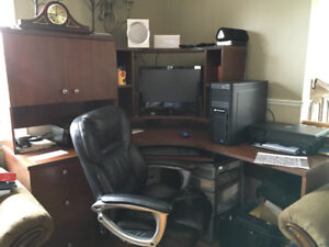Computer desk and chair(reduced)