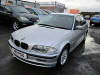 2001 BMW 3 Series 320 Saloon 2.0d 150 SE Diesel silver Manual