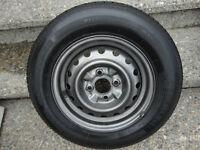 """13""""  Tire and Rim  Silverguard"""