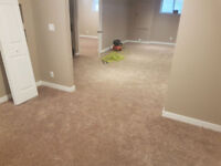 Carpet Installation with Supply with Underpad at $2.29 per Sq ft