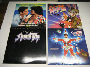 Laserdiscs - 4 to choose from