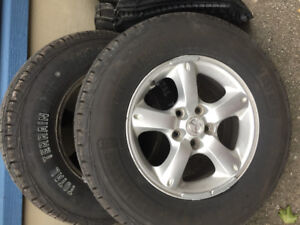 Set of 235/70R16 Tires