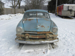 Just arrived from the west, 1951 Ford 2 door custom project