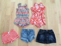 Lot de vêtements d'été bébé fille 18-24 mois