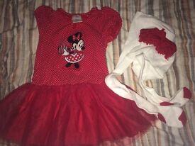 Mini Mouse tutu outfit