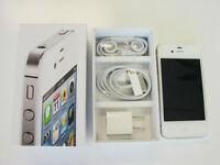 iPhone 4S 8Gb White Telus/Koodo Brand new perfect Apple Warranty