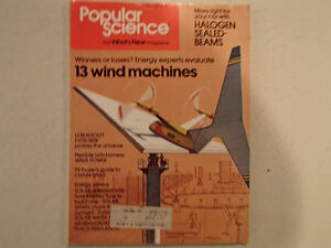 Vintage Popular Science Magazine September 1978 GC