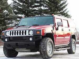2005 HUMMER H2 SUV in Beautiful Burgundy LOW KMs
