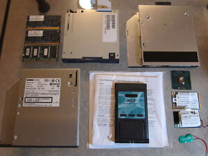 Laptop components, $5-15 each, see listing for details