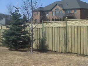 Fences! Post holes! Get a great fence for a great price!! Kitchener / Waterloo Kitchener Area image 1