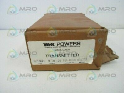Powers 184-0048 Temperature Transmitter New In Box