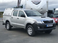 TOYOTA HI-LUX 2.5 D-4D 4WD 144BHP DOUBLE CAB PICK UP. *AIR CON*