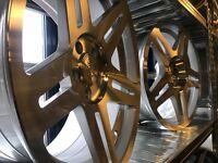 "18"" Stuttgart alloy wheels Alloys Rims tyre tyres 5x112 Vw Volkswagen Seat skoda Audi vauxhall"