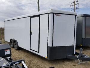New H&H 22' V nose enclosed car hauler cargo trailer