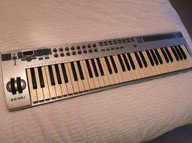 Midi keyboard emu xboard 61 key