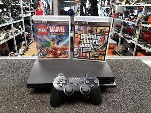 CONSOLE PS3 160 GO AVEC 3 JEUX AU CHOIX POUR 99.95$$