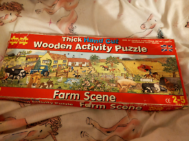 In the night garden &farm jigsaw