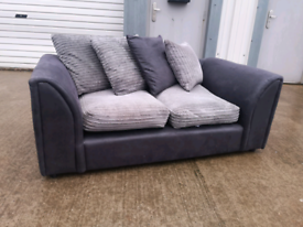 Grey fabric 2 seater sofa couch suite 🚚🚚