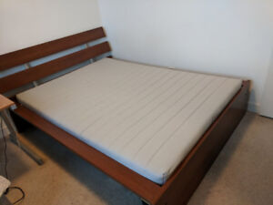 Full Size IKEA Hopen  Bed for Sell (Mattress included)