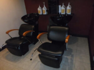 Huge used salon spa furniture closing down sale / hair styling
