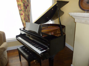 Pearl River Classic Home Grand Piano and  Padded  Bench