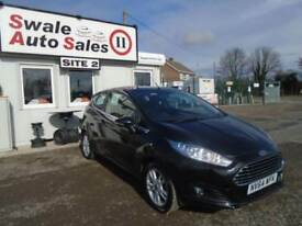 2015 FORD FIESTA 1.2 ZETEC - 39,779 MILES - FULL *FORD* SERVICE HISTORY-£30 TAX