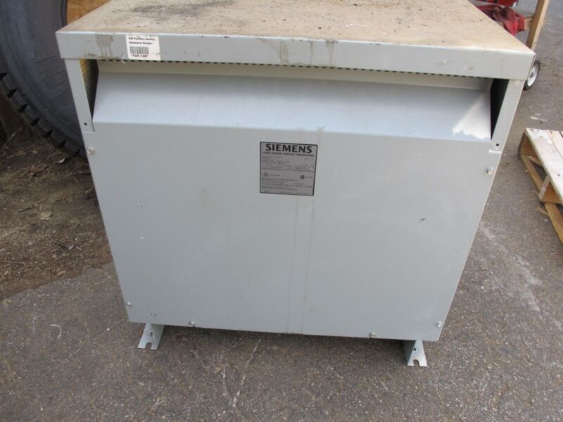 Siemens 3F3Y030F,  30 KVA, 480 X 120/208V, 3 Phase Transformer N/S- T330