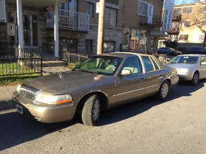 2003 Mercury Grand Marquis cuir Bicorps