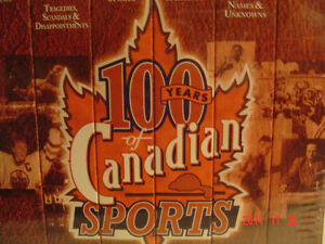 """SPORTS COLLECTOR'S - 6 VHF TAPES -""""100 YEARS OF CANADIAN SPORTS"""" Windsor Region Ontario image 2"""