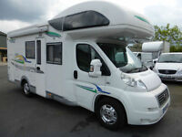 2008 Fiat Ducato 130ps CHAUSSON WELCOME 57 TOP 5-7 Berth, LOW MILES, SUPERB