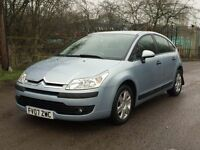 Citroen c4 automatic 5dr
