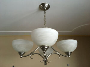 3 ceiling/chandeliers