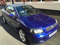 VAUXHALL ASTRA 1.8i BERTONE CONVERTIBLE >PRICE REDUCED!! FULL MOT..DRIVES GOOD