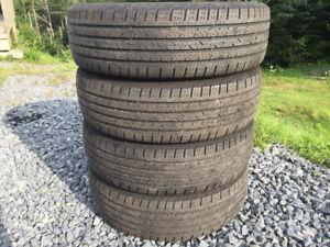 Four 215/70R16 Summer Tires