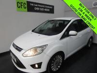 2011 Ford C-MAX 1.6 125 Titanium White Petrol BUY FOR ONLY £28 A WEEK *FINANCE*