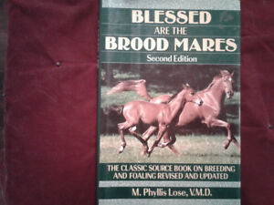 Books on broodmares and  training  foals