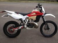 2010 Husqvarna WR300, road legal enduro. WR 300