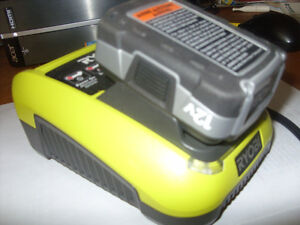 Ryobi 12 volt lithium battery and charger