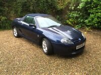 MG TF 2005 55000 miles All Blue Edition