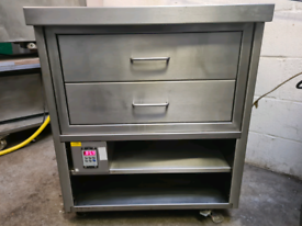 HOT CUPBOARD WITH DRAWERS