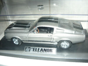 New 1967 Shelby GT500E 1:18 die cast ELEANOR custom display set