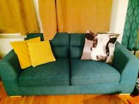 Teal two seater soca