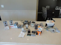 Lot of Solid State Relays, Pin Timers, Fractional HP Switches ++