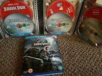 Jurassic World and Jurassic Park Box Set Blu Ray