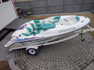 @@  A BEAUTIFUL 1996 SEADOO CHALLENGER   @@  SEATS 5  PEOPLE  @@