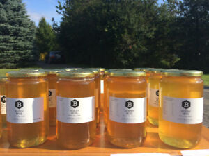 Fresh, local, unpasteurized Honey for sale in small to bulk